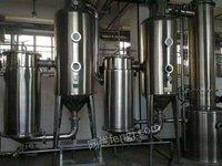 甘肃出售二手污水蒸发器 降膜蒸发器 价格低廉