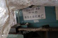 重庆江北区转让1台滚丝机青岛生建28-40  未安装使用