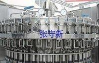 回收纯净水灌装机 矿泉水生产设备 果粒橙灌装 三合一灌装机