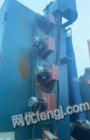 河北廊坊出售q3750吊钩抛丸机!双钩1吨葫芦,5个7.5千瓦抛头,11千瓦风机,内径2.3米宽4.7米高