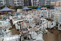 广东深圳高价回收口罩机/无纺布/熔喷布