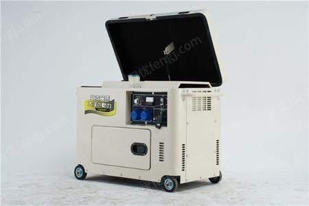 大巴车用5kw静音柴油发电机出售