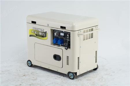 7kw柴油发电机一小时耗油量出售