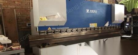 浙江温州在位转让99新4米160吨折弯机和4米半新剪板机各一台