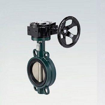 厂家直供D37X碳钢涡轮无销对夹蝶阀PN10-16现货