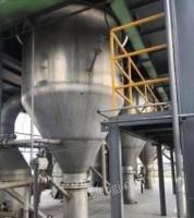 山东济宁25吨钛材强制循环蒸发器出售, 需要的老板联系