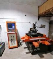 广东佛山二手2018年深圳产2535线切割中丝一台转让