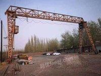出售花架龙门吊10吨跨度22米,升高9米,大驱动,