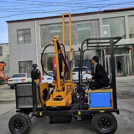 BK-高速路护栏打桩机反循环钻机配件出售