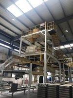 墙材公司复合墙板生产线、板材精细加工生产线等设备网络拍卖