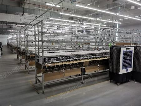 工厂转让2020年16针/12针平面口罩耳带针通机几百台