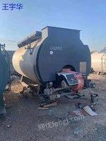 优价出售二手4吨冷凝式广州迪森燃气锅炉一台