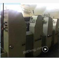 印刷厂出售09年520四色印刷机1台,泰兴880型自动冲版机1台,泰兴SBY1150-C晒版机