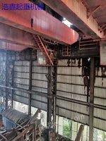 二手50吨双梁行吊 低价格转让 QD型二手50吨行吊