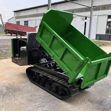 工程农用运输自卸履带车 多功能四不像液压型履带运输车出售