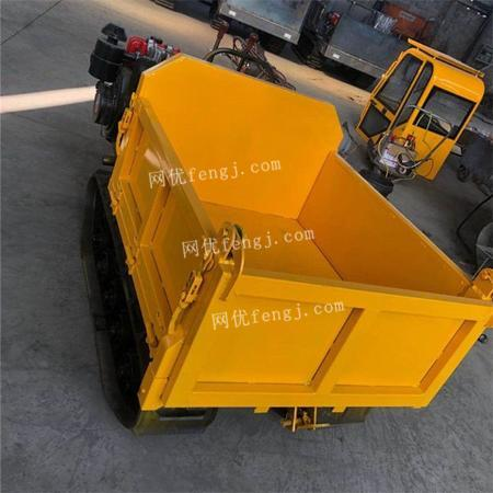 工程农用自卸履带运输车 小型四不像拖拉机出售