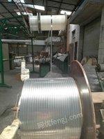二手汽车空调冷凝器铝扁管生产线转让或找合作伙伴