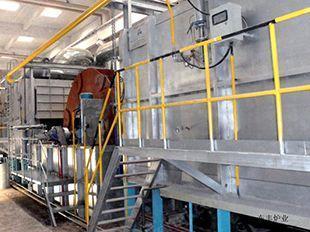 步进式钢瓶热处理生产线出售