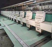 出售一台绣花机10头500-600间距侍服直线