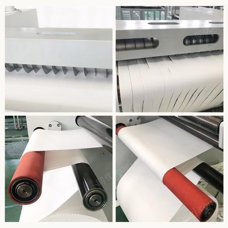 小型分切机分条机可定制褶皱滤袋分条机熔喷布切条机出售