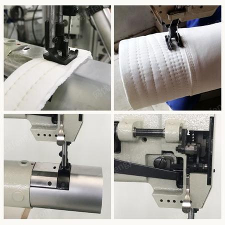 哲曼环保短臂双针缝纫机出售