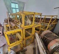 出售24米施工升降机简易龙门架井字架,物流提升机