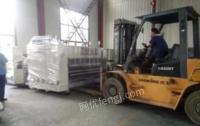 江苏南通cx-2600高速四色水墨印刷免版模切机纸箱生产机械设备出售