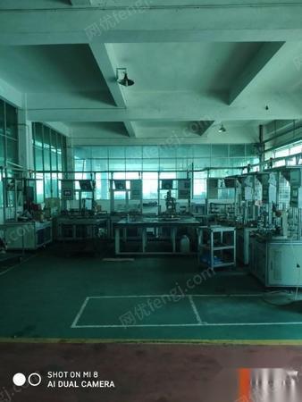 江西景德镇转让万向设备包括检验设备仪器,装配线,电泳线等