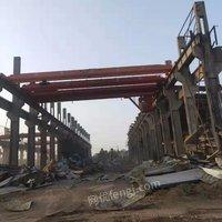 淮安工地出售二手单梁行车5T16.5米和19.5米