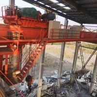 淮安工地出售二手QDY冶金双梁50吨22.25