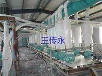 工厂在位求购二手面粉设备一套