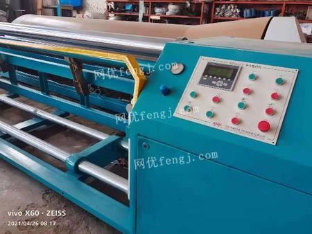 Handle second-hand section warping machines