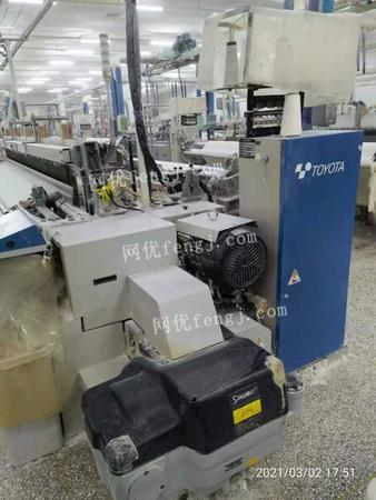 Handle 1 batch of second-hand air-jet looms,Toyota series
