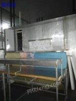 出售二手制冷设备3吨流态化隧道 冷库设备配套冷源机组