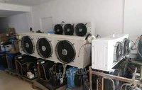 出售二手冷库,2匹3匹5匹冷库机组现货