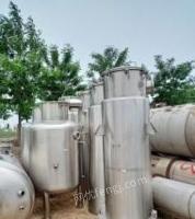 江苏南京全新没有安装双效浓缩蒸发器两套出售