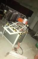 湖南邵阳出售全套门窗设备,几乎全新双头锯铣床瓦斯枪
