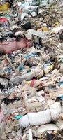 生活垃圾分类出的混合塑料出售