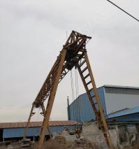 河南郑州16吨电葫芦走轴距20米宽龙门吊出售