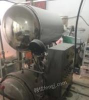 辽宁鞍山出售1台山东产食品上下层杀菌锅配套设备  用了不到一个月,看货议价.