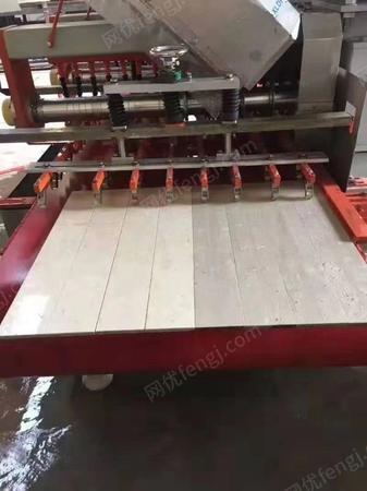 全自动双组刀连续瓷砖切割机出售