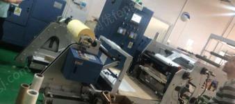 广东东莞出售全套生产热熔胶美纹纸胶带设备 1050分切机  用了五年,  看货议价.