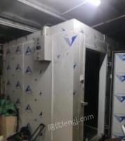 广东珠海二手冷库转让2019.6月装的机