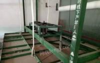 四川绵阳弹棉花机设备转让高低床磨棉机一台 上传动磨棉机一台
