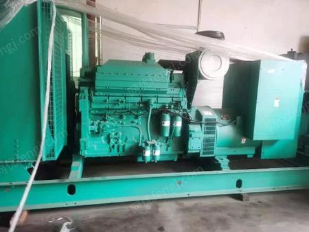 出售二手柴油发电机组400千瓦