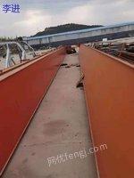 山东处理二手葫芦双行车20吨跨度22.5米起升高度9米