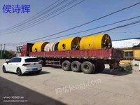 山东出售二手陶瓷球磨机10吨,5吨等不同规格