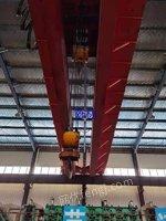 出售二手32/10吨双梁行车跨度22.5米五台成色9成新