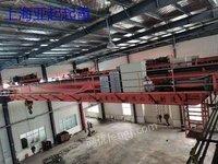 上海亚起出售二手双梁行车32/10吨跨度22.5米