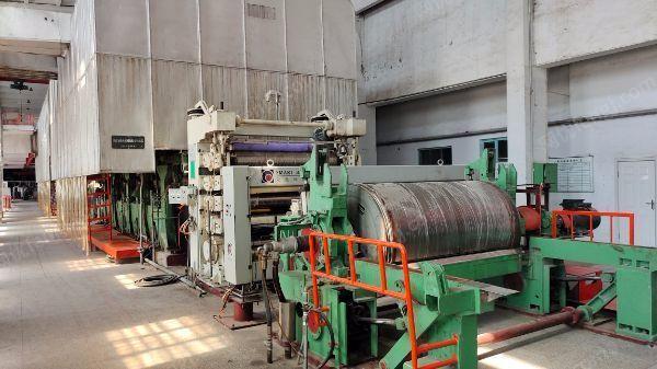 造纸厂整厂设备物资转让,1760纸机1575造纸机各1套,25吨烧煤锅炉(可单卖),分切机,轧光机,污水处理设备,变压器,线缆,电机,配件等